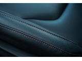 -红色缝线座椅