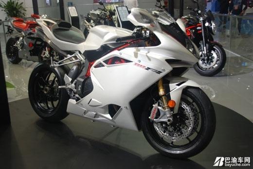 法拉利重机摩托车_第十一届国际摩托车博览会华丽 ...