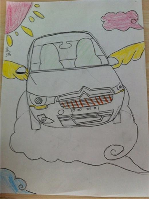 儿童画车大赛 再迎组团参赛