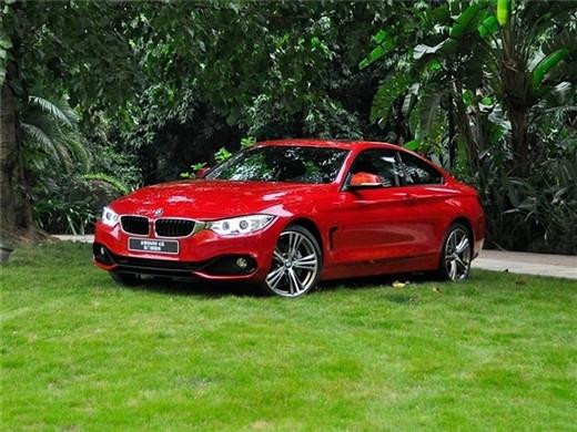 宝马4系coupe正式上市 售59.6-73万元