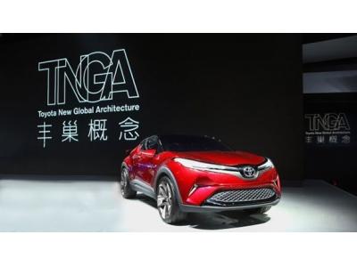 一汽丰田首款TNGA SUV车型IZOA奕泽
