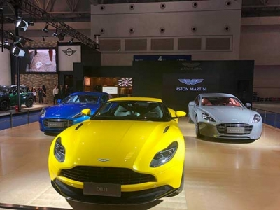 阿斯顿•马丁惊喜再现全新车型悉数登场 重庆国际车展