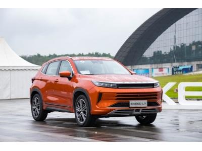 超智越级SUV—EXEED星途LX