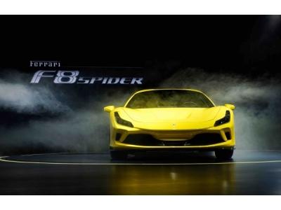 全新法拉利F8 Spider亞洲首秀