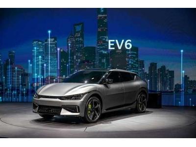 起亚专属电动车型EV6中国实车首秀